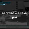 Back side Air grab